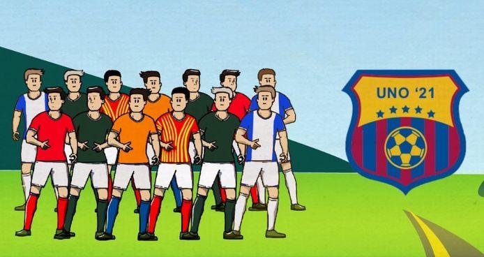 De nieuwe voetbalclub voor de jeugd in Berkelland gaat UNO'21 heten: Uut Noaberschap Ontstoan