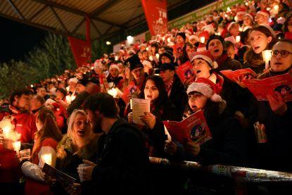 28.500 mensen komen samen in voetbalstadion Union Berlin voor kerstliederen