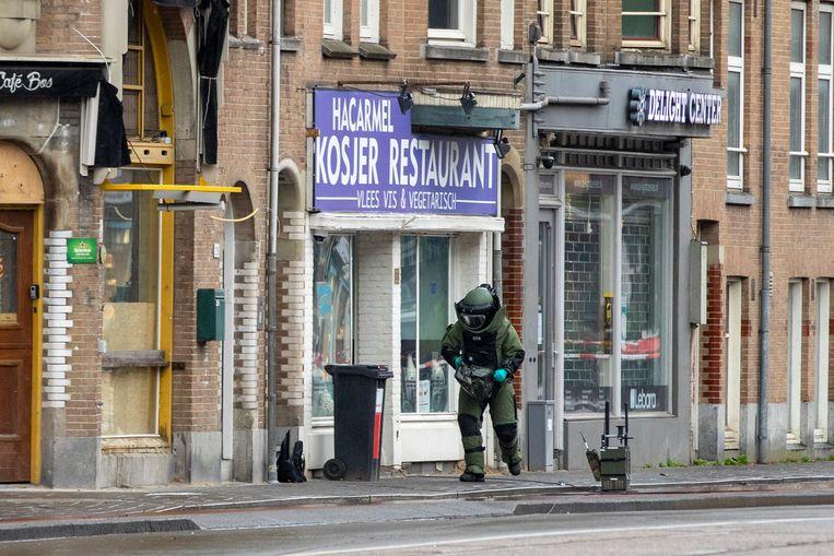 Man aangehouden vanwege verdacht pakket bij restaurant HaCarmel
