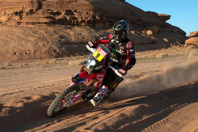 Ricky Brabec kent wederom een goede dag in de Dakar Rally.