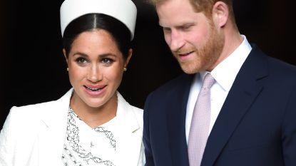 Harry en Meghan wilden volledig eigen hofhouding, maar kregen een 'njet' van The Queen