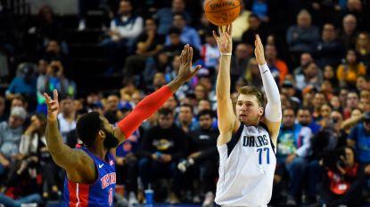 NBA-sensatie Luka Doncic blijft imponeren bij Dallas