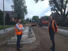 Belangrijke verbindingsweg in Den Ham gaat ruim 6 weken eerder open