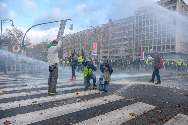 Gele Hesjes Brussel.