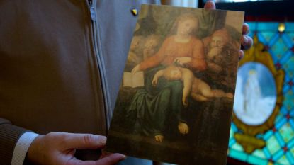 Al meerdere tips over dief die 'Michelangelo' stal uit kerk Zele