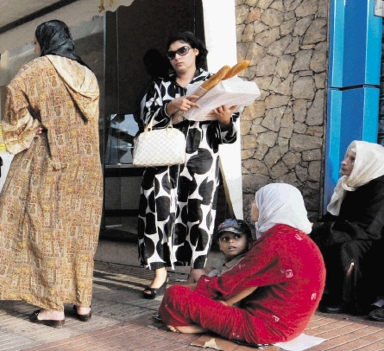 Moet Marokko éérst modern worden, of gaat dat vanzelf als er minder armoede is? (FOTO AFP ) Beeld AFP