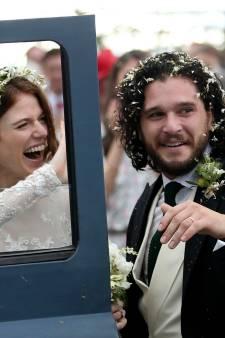 Kit Harington en Rose Leslie zijn getrouwd