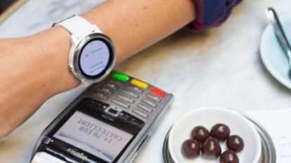 KBC-klanten kunnen binnenkort betalen met hun smartwatch