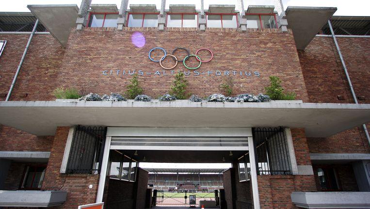 De ingang van het Olympisch Stadion Beeld anp