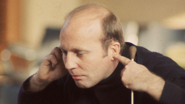 De Duitse componist Hans Werner Henze in 1969. Beeld Getty Images/Erich Auerbach