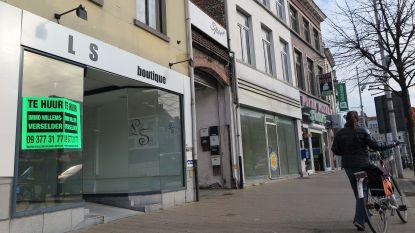 In tien jaar tijd dubbel zoveel lege winkelpanden in Deinze en Eeklo, Unizo Oost-Vlaanderen trekt aan alarmbel