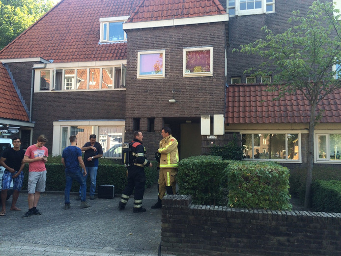Brand in de Guido Gazellestraat in Eindhoven.