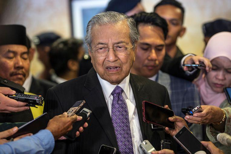Maleisisch premier Mahathir Mohamad.