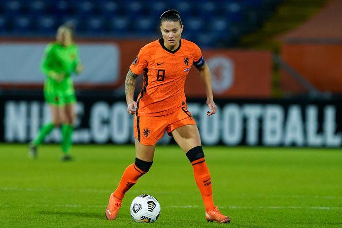01-12-2020: Vrouwenvoetbal: Nederland v Kosovo: Breda Qualifying round - Group A L-R: Sherida Spitse of the Netherlands