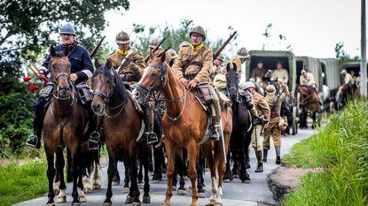 Bevrijdingsleger start tocht van 150 km