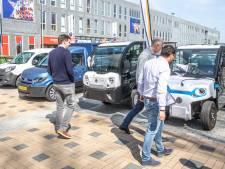 Goederen gaan binnenkort in Apeldoorn en Zwolle vanaf een verzamelpunt elektrisch de stad in