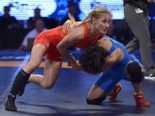 Jessica Blaszka mist kwartfinales WK worstelen