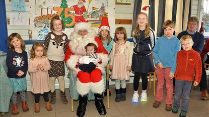 Kerstman op bezoek bij Rupelsneppen