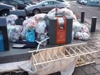 Kuddegedrag zorgt voor ophoping vuilnis bij Enschedese milieupleinen