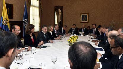 VN-medewerker ontvoerd tijdens bezoek Veiligheidsraad aan Colombia
