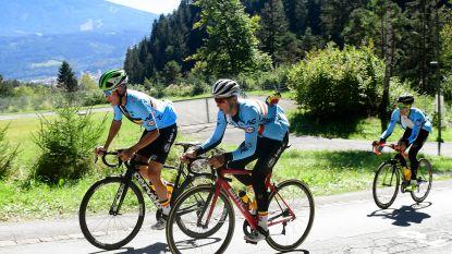 """VIDEO. Wij waren erbij op Belgische parcoursverkenning. Teuns: """"Die Gramartboden? In de Vuelta waren er nóg steilere klimmetjes"""""""