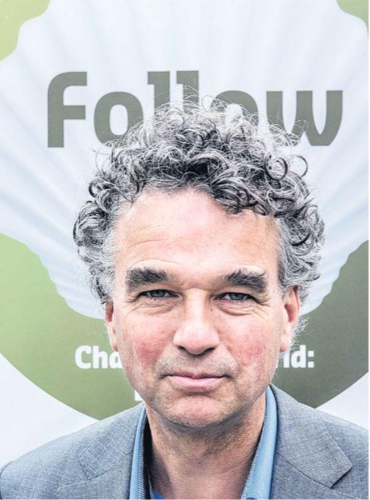 Mark van Baal, Shell-aandeelhouder Beeld Patrick Post