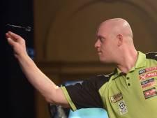 Van Gerwen blameert zich in eerste ronde German Masters