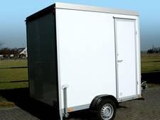 Mobiele badkamer uit Didam gestolen: Harald vraagt om hulp
