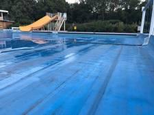 Oeps! Foutje, bedankt: zwembad in Drenthe leeggelopen