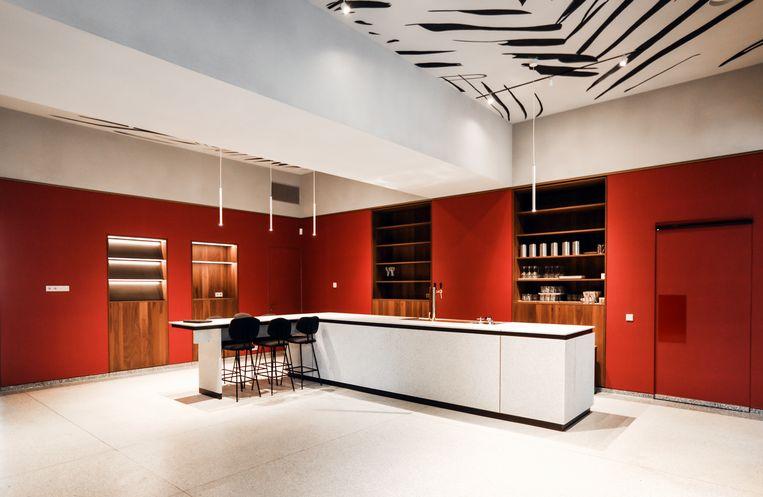 Café in het Trippenhuis. Beeld Eva Plevier