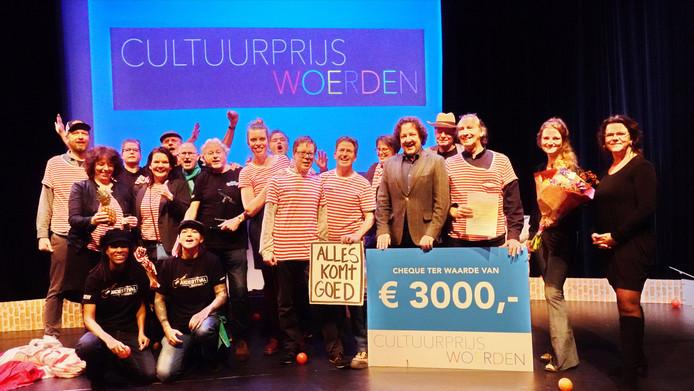 De winnaar van de Woerdense Cultuurprijs is Kunstpark/Akoestival