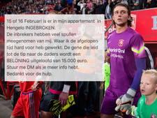 Celstraffen voor inbrekers FC Twente-keeper Drommel