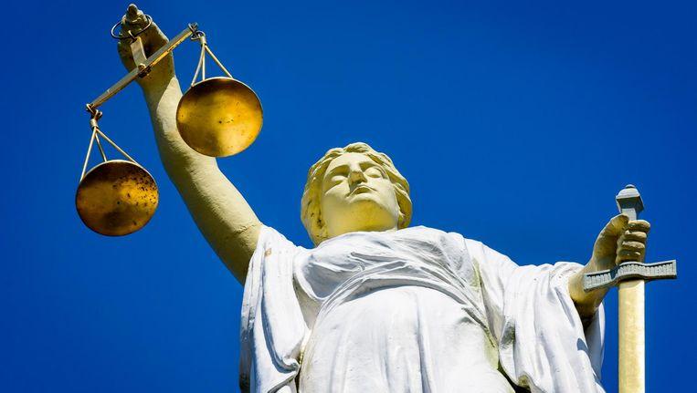 De verdachte werd aangehouden in Mijdrecht Beeld anp