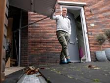 Als de straat hoger ligt dan je voordeur, wie houdt dan het regenwater buiten in Harderwijk?