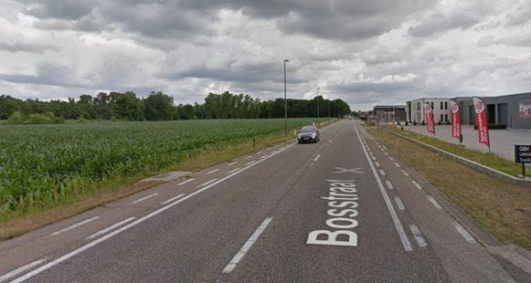 De Bosstraat in Hamont-Achel