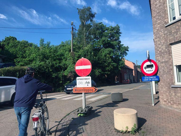 N-VA Holsbeek kaart eenrichtingsverkeer op Nobelberg aan.