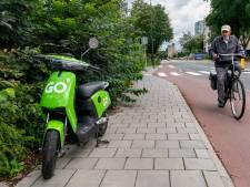 Er ging in Den Bosch voor tienduizenden euro's de lucht in met Nieuwjaar... aan groene deelscooters