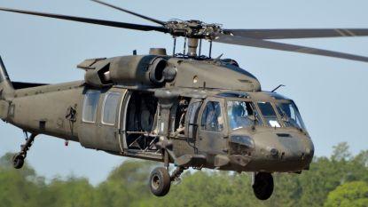 Drie militairen omgekomen bij helikoptercrash in VS