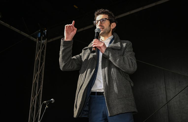 Leuvens burgemeester Mohamed Ridouani (sp.a).