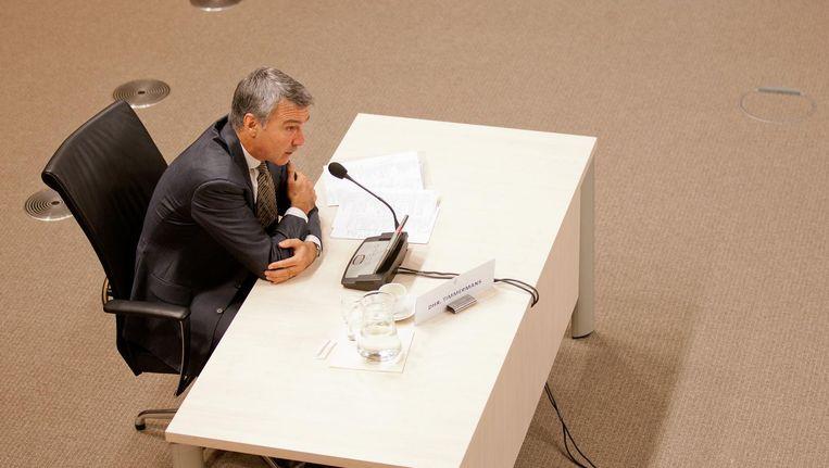 Koos Timmermans' vertrek houdt verband met de schikking die de bank onlangs sloot vanwege witwaspraktijken. Beeld anp