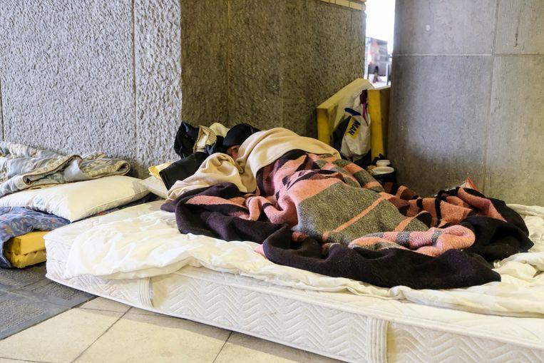 Extra opvang voor Brusselse daklozen.