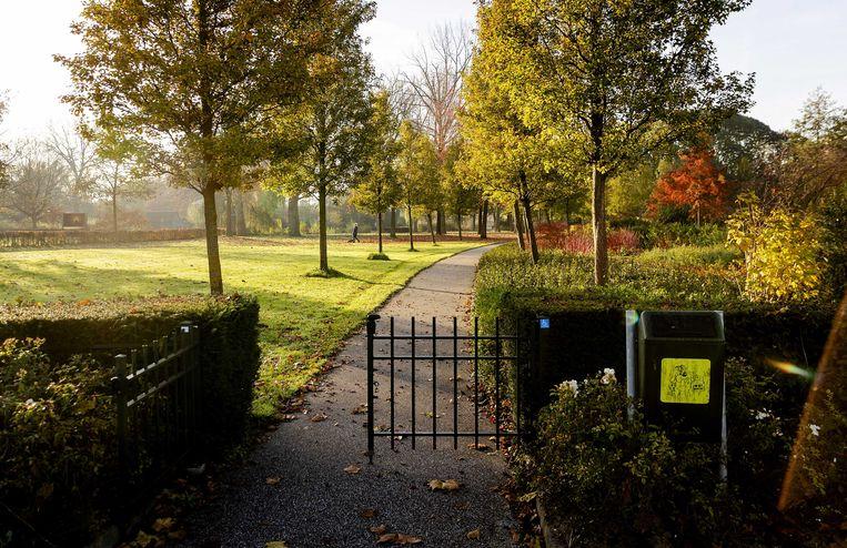 Het Gijs van Andelpark in Gorinchem. Beelden van vechtpartijen in de stad trokken landelijke aandacht.  Beeld ANP