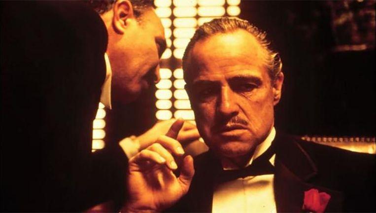 Marlon Brando als Don Vito Corleone in 'The Godfather'