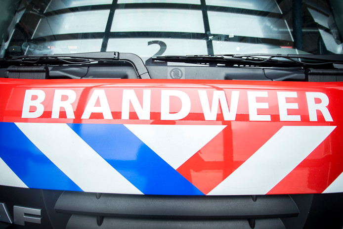 Drie auto's in brand in Waddinxveen.