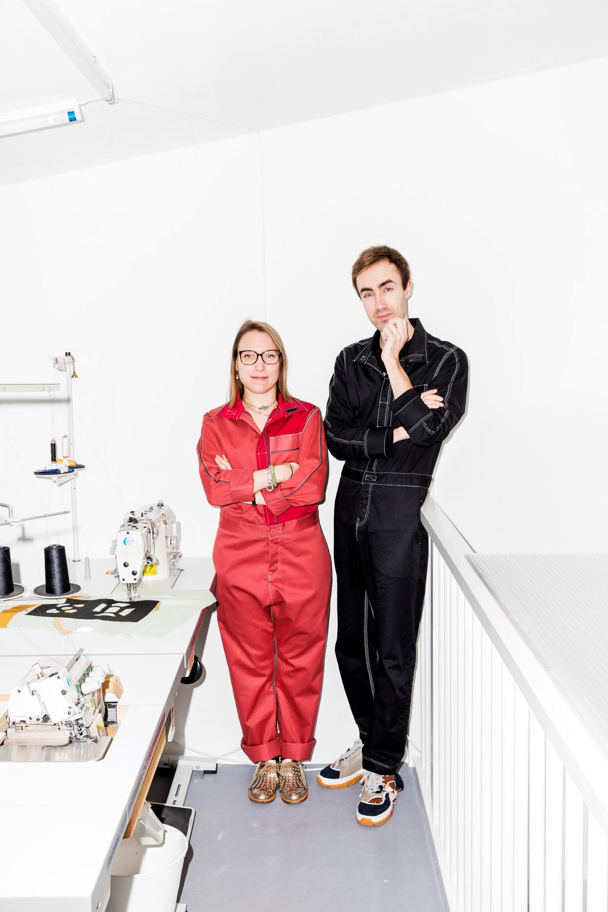 Anne Bosman en Sanne Schepers.  Beeld Marie Wanders