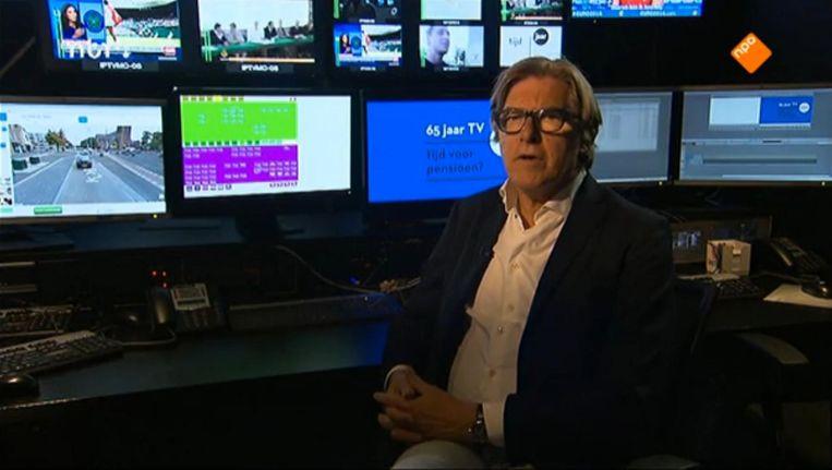 De uitzending gaf weinig reden te geloven in honderd jaar Nederlandse televisie. Beeld NPO2
