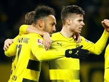 Dortmund wint ook tweede duel na ontslag Bosz