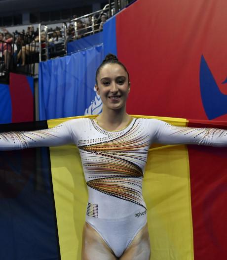 L'or pour Derwael à la poutre, sixième médaille pour la Belgique aux Jeux Européens