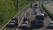 Vijf wagens botsen op E40 in Erpe-Mere