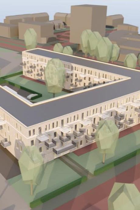 Giga interesse: 848 mensen voor één appartement laat druk op woningmarkt Den Bosch zien